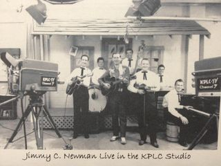 Jimmy C. Newman in KPLC studio