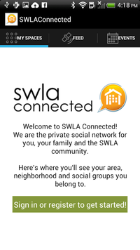 Swla connected page