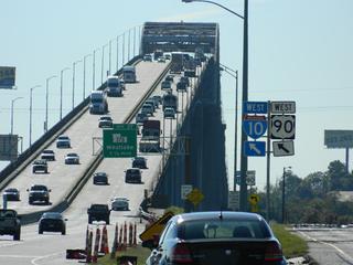 I-10 bridge traffic