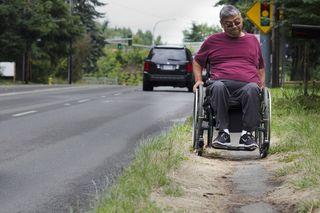 Sidewalks handicapped