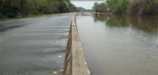 I-10 flooded