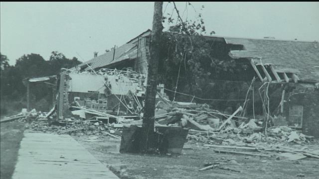 School tornado