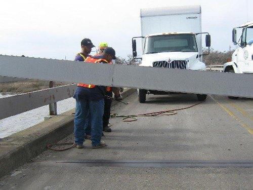 Putting the Mermentau Bridge back together